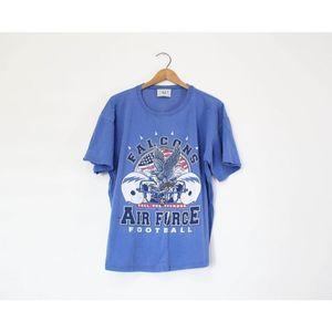 Vintage Air Force Eagle Football T Shirt
